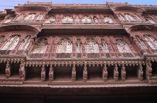 Free Bikaner Palace Royalty Free Stock Photos - 5614288