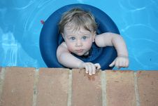 Free Little Swimmer Stock Photos - 5614623