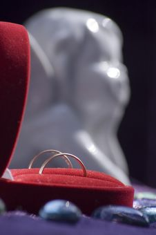 Free Wedding Rings Stock Photography - 5614742