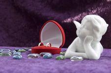 Free Wedding Rings Royalty Free Stock Photos - 5615048