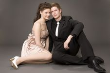 Free Portrait Of A Young Beautiful Couple Royalty Free Stock Photos - 5615078