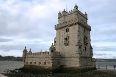 Free Belem Tower Royalty Free Stock Photo - 5615265