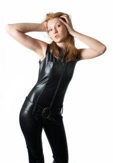 Fetish Girl Stock Images
