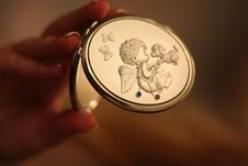 Free Pocket Mirror Stock Image - 5615611