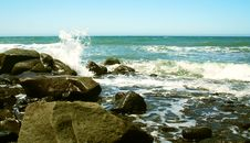 Free A Breaking Wave Royalty Free Stock Photography - 5615837