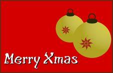 Free Merry Xmas Royalty Free Stock Photo - 5615935