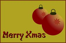 Free Merry Xmas Royalty Free Stock Photography - 5615987
