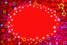 Free Starry / Snowy Xmas Design Royalty Free Stock Images - 5616109