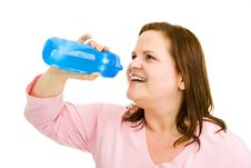 Free Plus Sized Fitness - Hydration Stock Images - 5616914