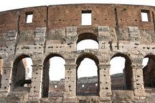 Free Rome Coliseum Detail Cutout Stock Photos - 5617363