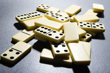 Free Close Up Of Dominoes. Royalty Free Stock Photography - 5617507