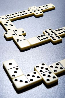 Free Close Up Of Dominoes. Royalty Free Stock Photography - 5617557