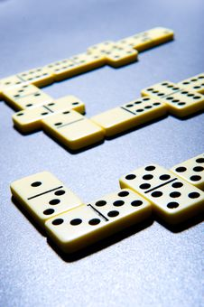 Free Close Up Of Dominoes. Royalty Free Stock Photo - 5617585
