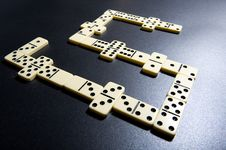 Free Close Up Of Dominoes. Royalty Free Stock Images - 5617649