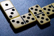Free Close Up Of Dominoes. Royalty Free Stock Image - 5617696