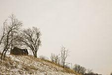 Free Horizontal House On The Hill Stock Photos - 5617753