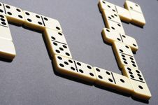 Free Close Up Of Dominoes. Royalty Free Stock Images - 5617909