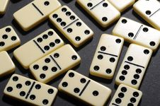 Free Close Up Of Dominoes. Stock Images - 5618054