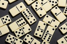 Free Close Up Of Dominoes. Stock Photo - 5618070