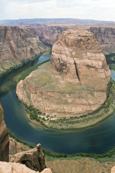 Free Horseshoe Bend Royalty Free Stock Photography - 5618087
