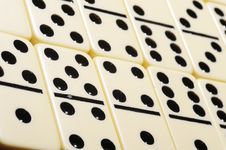 Free Close Up Of Dominoes. Stock Photo - 5618140