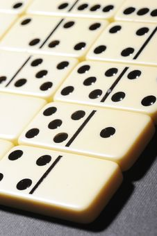 Free Close Up Of Dominoes. Stock Images - 5618144