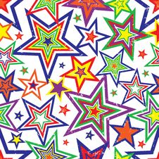 Free Rainbow Stars Background Vector Stock Images - 5618304