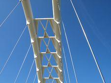 Free Modern Suspension Bridge Royalty Free Stock Photography - 5618467