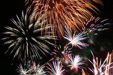 Free Fireworks Montage 2 Royalty Free Stock Photo - 5618685