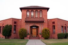 Free Historic Building In Petaluma, California Stock Photos - 5619043