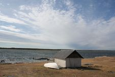 Free Old Fishermen House Stock Photo - 5619320