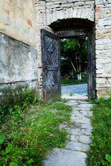 Free Door Of Fortress Stock Photo - 5619480