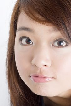 Free Pretty Young Asian Model Stock Photo - 5619810