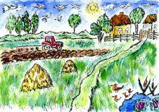 Free Rural Landscape Stock Photo - 56156170