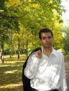 Free Young Man In The Park Royalty Free Stock Image - 5628766