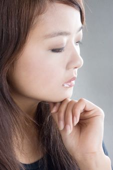 Free Pretty Young Asian Model Royalty Free Stock Photo - 5620125