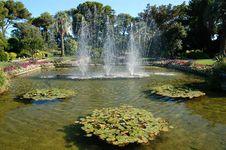 Free Villa Ephrussi De Rotschild Garden Stock Photos - 5620223