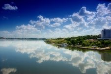 Free Blue Sky And River Stock Image - 5620491