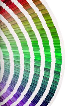Color Guide Close-up Royalty Free Stock Images