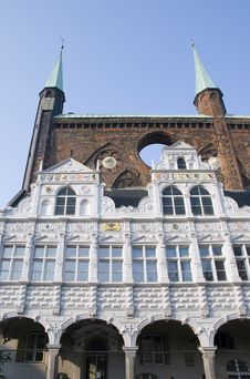 Free Old Facades In Luebeck, Germany Royalty Free Stock Image - 5621736