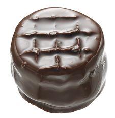 Chocolate Drops Stock Photo