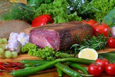 Ham Royalty Free Stock Photo