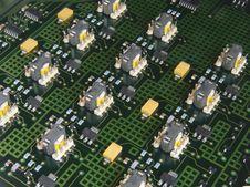 Free Circuit Board Royalty Free Stock Image - 5622836