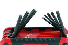 Free Torx Wrench Set Stock Image - 5623731