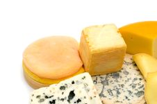 Free Cheese Assortment Royalty Free Stock Photography - 5624037