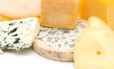 Free Cheese Assortment Royalty Free Stock Photography - 5624127