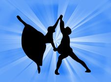 Free Couple Dancing Royalty Free Stock Image - 5625896