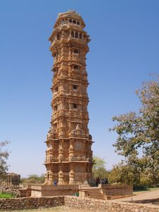 Free Chittorgarh Citadel Ruins In Rajasthan, India Stock Image - 5626001