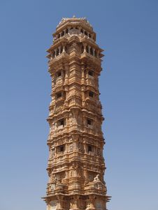 Free Chittorgarh Citadel Ruins In Rajasthan, India Royalty Free Stock Photography - 5626067