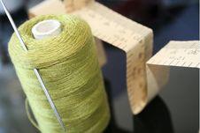 Free Green Darning Cotton Stock Photos - 5626653